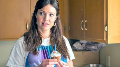 The icing on the cake: Mandy Moore plays mother Rebecca in popular TV series, This Is Us. Image: This Is Us