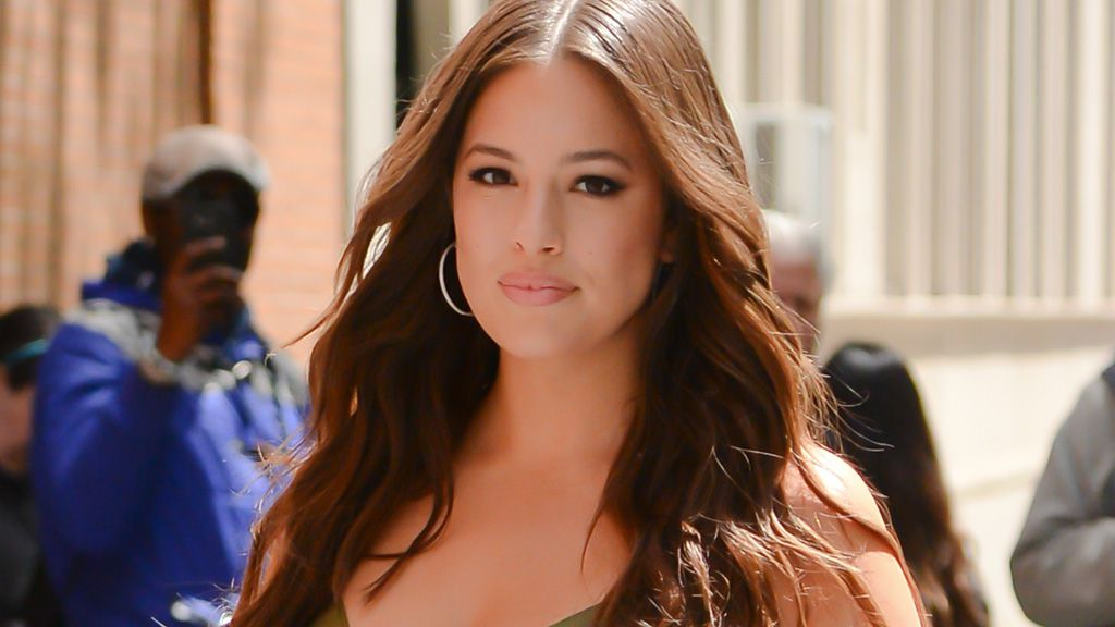 Supermodel Ashley Graham.