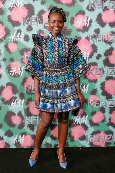 Lupita Nyong'o at H&M x Kenzo