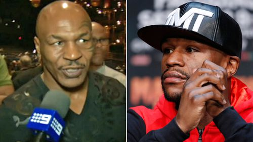 Mike Tyson and Floyd Mayweather.