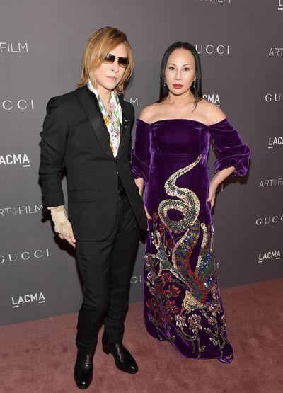Musician Yoshimi and Eva Chow.