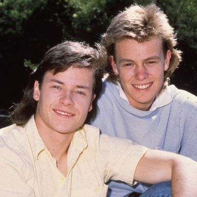 <p>Guy Pearce and Jason Donovan: mid-'80s</p>