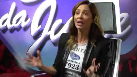 <i>Voice</i> parody: Natalie Imbruglia auditions to be a reality show judge