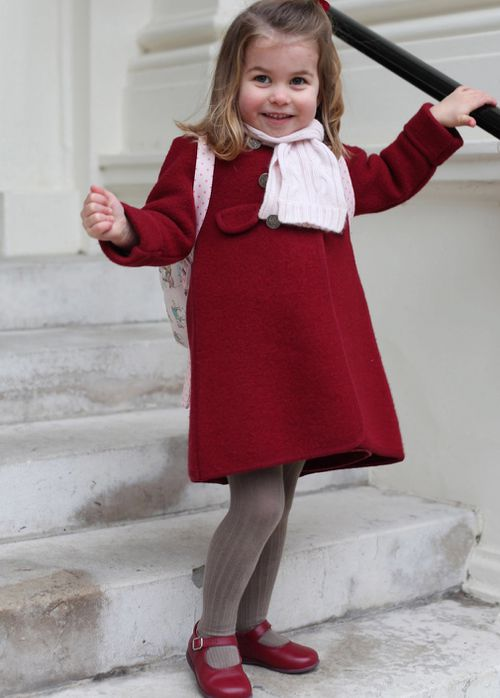 Princess Charlotte is two. (PA/AAP)