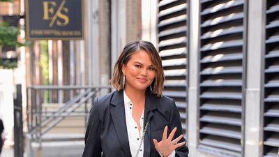 Chrissy Teigen pulled a Blake lively and wore three outfits in one day