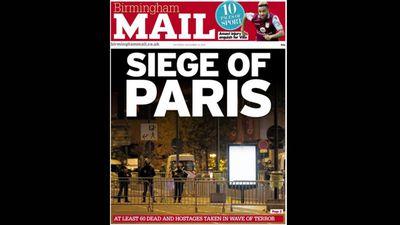 <em>Birmingham Mail </em>ran 'Siege of Paris'.