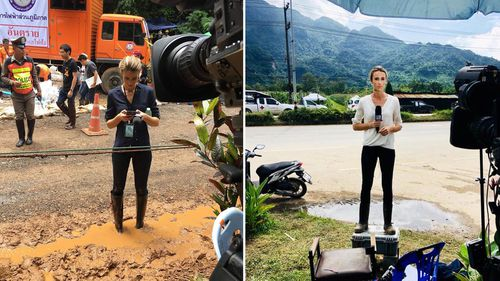 Alice Monfries reported every moment of the rescue on the ground in Thailand .