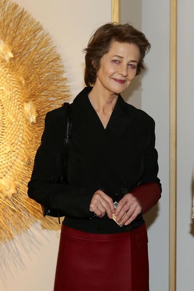<p>Charlotte Rampling will always be cool and regularly demonstrates that leather skirts are perfect for 71-year-olds.</p>