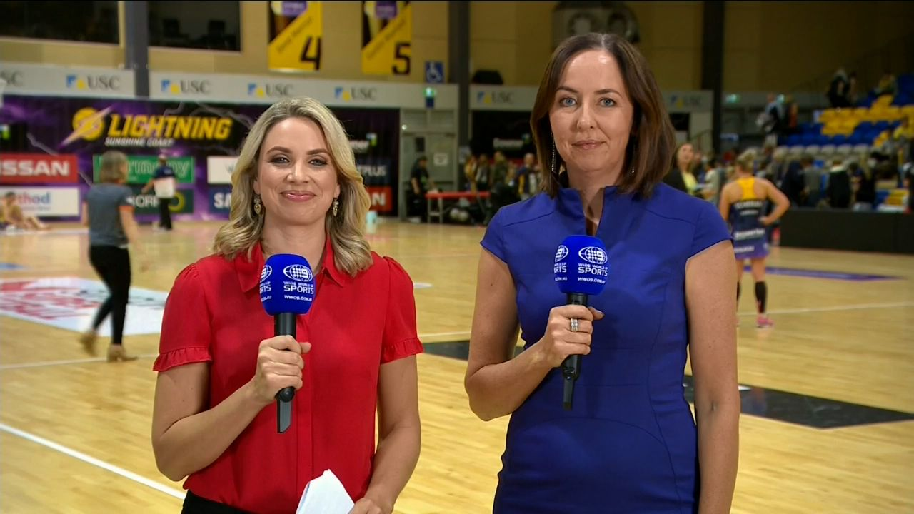 Sunshine Coast Lightning and GWS Giants draw in Suncorp Super Netball