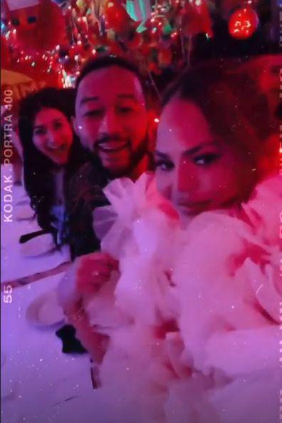 Chrissy Teigen John Legend party