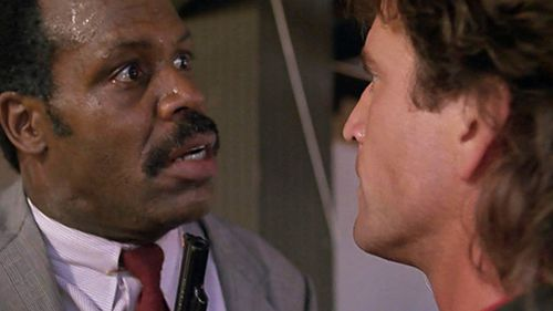 Roger Murtaugh discovers Martin Riggs really is crazy.