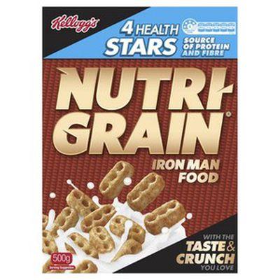 9. Nutri Grain