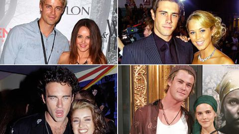 In pics: <i>Home and Away</i>'s hottest real-life hook-ups
