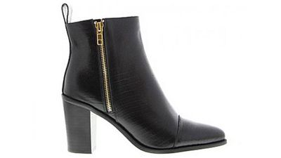 "<a href=""http://www.tonybianco.com.au/categories/boots/bentley-53022.html#""> Bentley Lizard Boot, $199.95, Tony Bianco</a>"