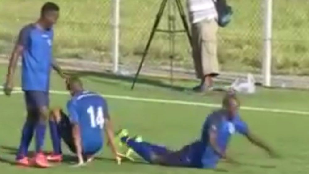 Teen tragically dies after goal celebration