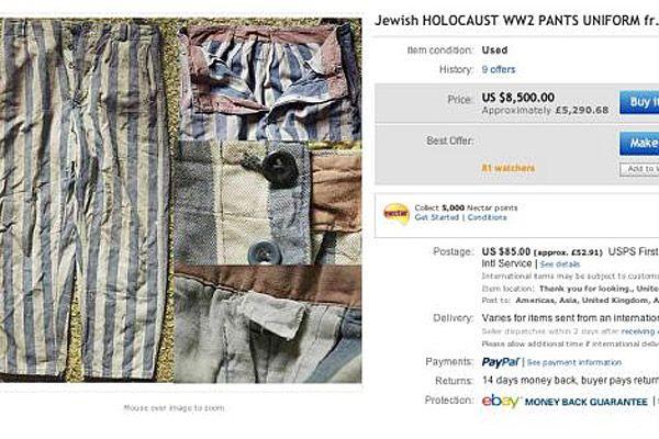 Holocaust memorabilia