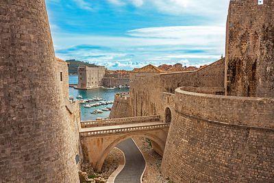 <strong>Fort Lovrijenac, Dubrovnik</strong>