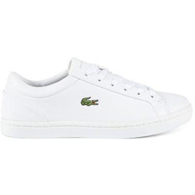 """<a href=""""https://lacoste.com.au/product/straightset-lace-317#34CAW0060001"""" target=""""_blank"""">Lacoste Straightset Lace 317 in White, $169.95.</a>"""