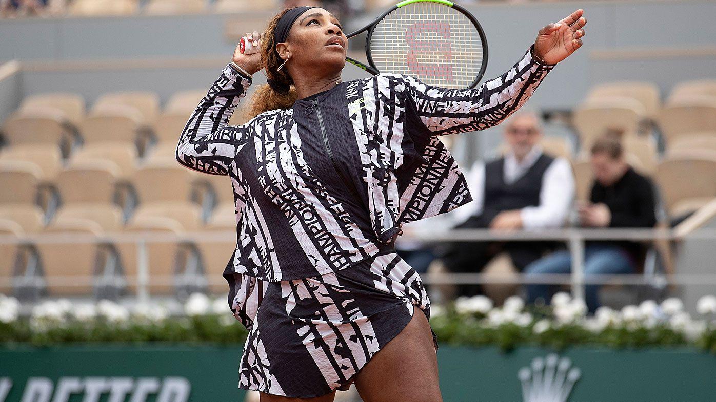 f29e5934ba0 French Open 2019 tennis: Serena Williams outfit at Roland Garros, Rafael  Nadal and Novak Djokovic cruise