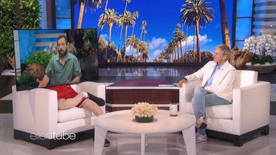 Adam Sandler on The Ellen DeGeneres Show