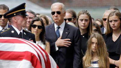 Biden farewells his son