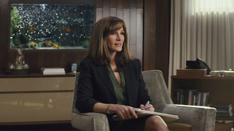 Julia Roberts in a scene from Amazon Prime series Homecoming