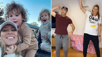 How Sydney celebrities are going through lockdown.
