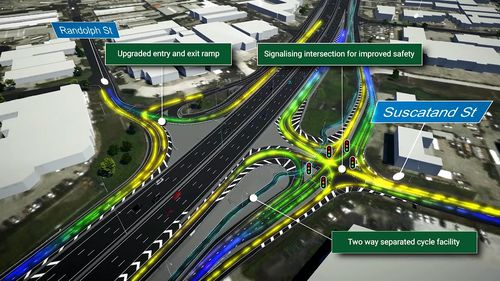 The Motorway, which will run in Brisbane's west, is expected to be completed by late 2020. Picture: Supplied.