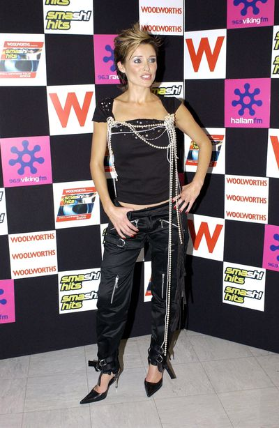 Dannii Minogue at the Smash Hits Poll Winners Tour in London, October, 2002