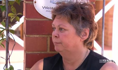 """He was screaming that he was sorry and he didn't know what he was doing,"" Joanne McBeath, who witnessed the arrest, said. (9NEWS)"