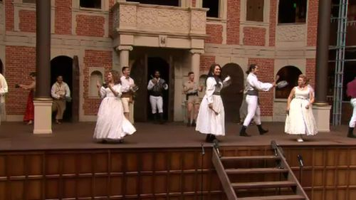 Costumes are a major feature of the stage show. (9NEWS)