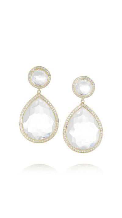 "<a href=""http://www.net-a-porter.com/product/434377/Ippolita/lollipop-18-karat-gold-quartz-and-diamond-earrings"">Lollipop 18-Karat Gold, Quartz and Diamond Earrings, $9,897.26, Ippolita</a>"