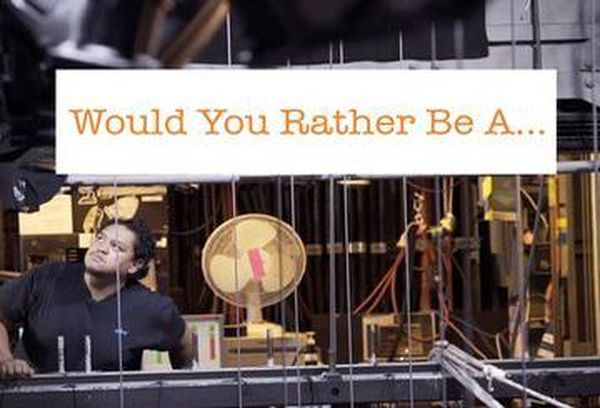 Would You Rather Be A...