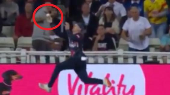 Insane catch makes 20yo instant superstar