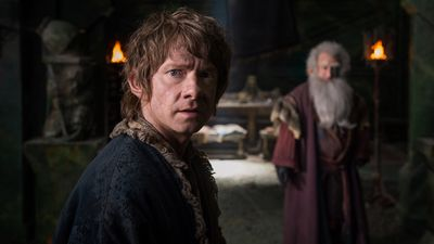 Martin Freeman stars in the final chapter of the three-part film adaptation of The Hobbit, 'The Battle of the Five Armies'. (Supplied)