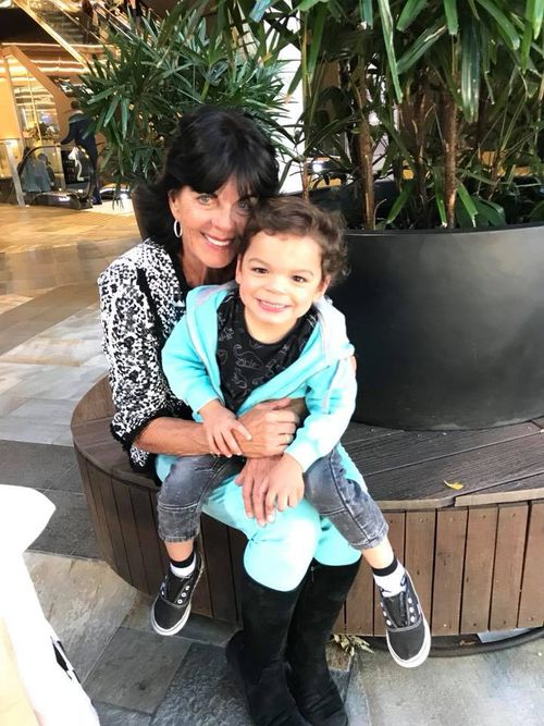 Gai Vieira and her two-year-old grandson were involved in the crash in Cronulla earlier this month.