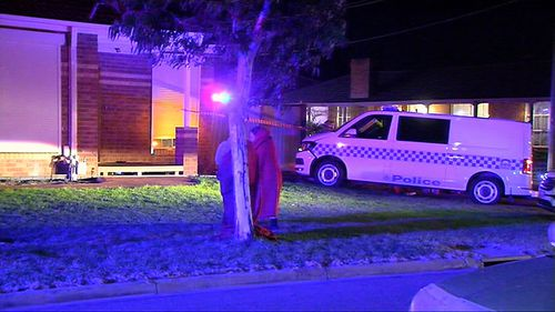 An internal investigation is being done to determine the cause of the crash. Image: 9News