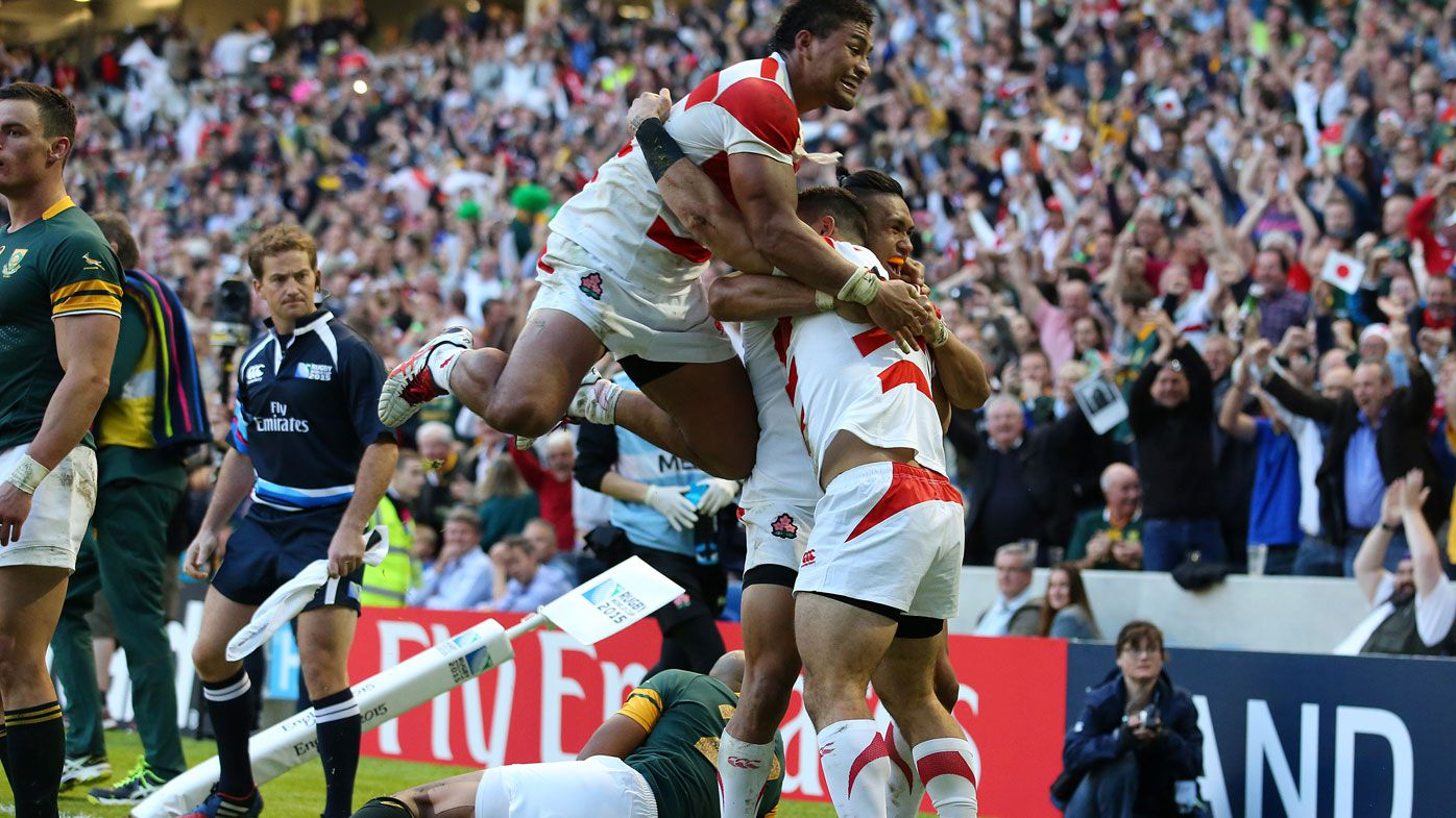 Japan's World Cup upset win over Springboks to be turned into a movie