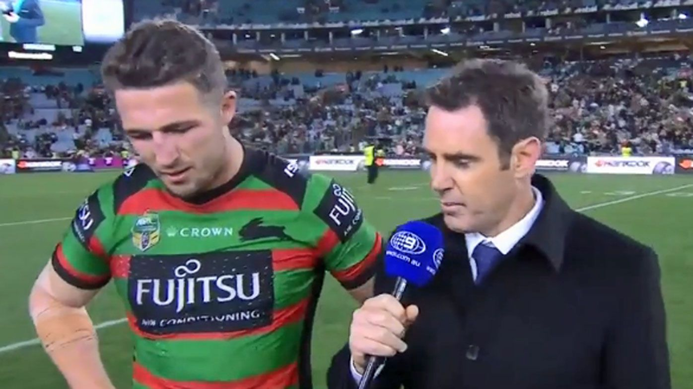 Sam Burgess and Brad Fittler