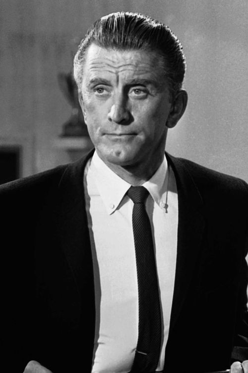 Kirk Douglas (seen here in 1962) would become one of Hollywood's most iconic actors.
