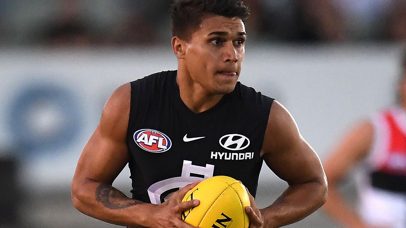 Carlton speedster Jarrod Pickett sidelined out of AFL for three months
