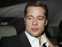 """Brad Pitt and Angelina Jolie attends the premiere for the film """"A Mighty Heart"""" at the Palais des Festivals during the 60th International Cannes Film Festival on May 21, 2007 in Cannes, France."""