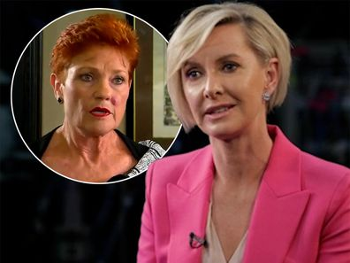 Deb Knight and Pauline Hanson