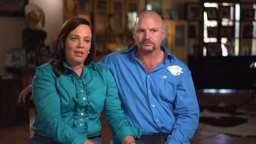 Kate and Tick Everett hopes their story and their work with Dolly's Dream will start Australia talking about bullying.