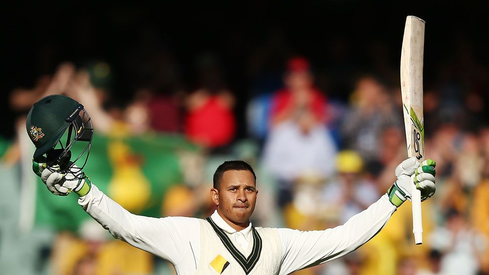 Usman Khawaja.(Getty)