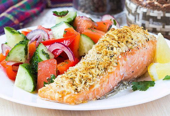 Tyrrells crisp crusted salmon fillets