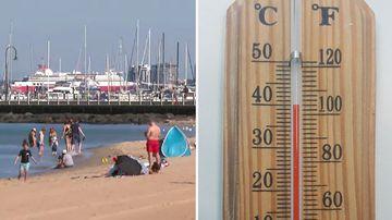 Australia heatwave weather SA Victoria
