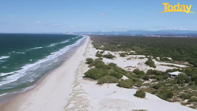 The island is a stone's throw from Queensland's glitter strip.