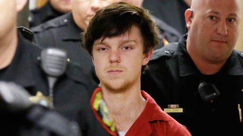 Ethan Couch arrives in court for sentencing.