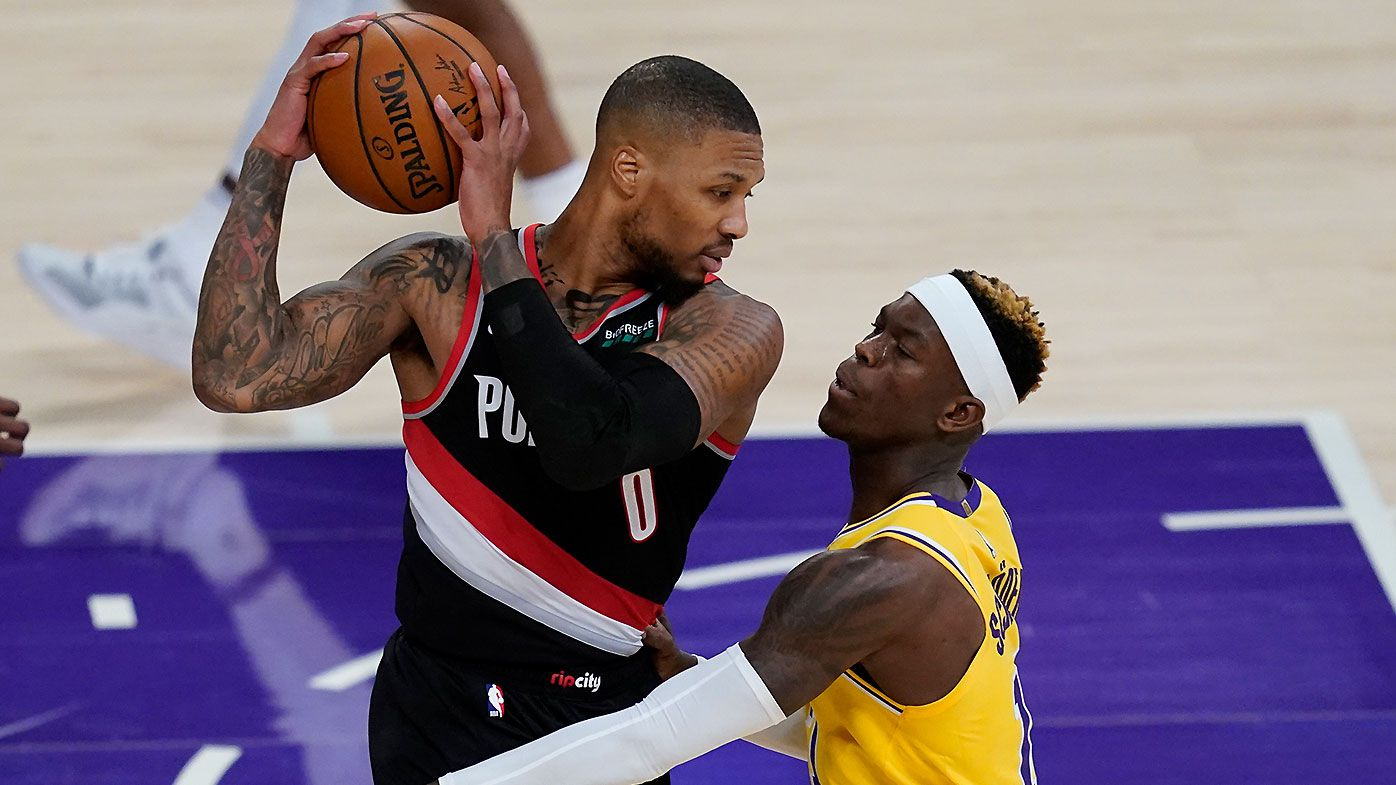 Damian Lillard's priceless response to reporter over questionable tweets